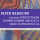 Workshop: Paper Marbling
