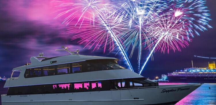 Sapphire Princess Jones Beach Fireworks Show Dinner Cruise