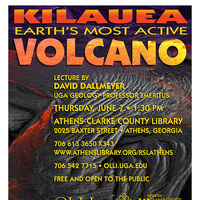 Lecture: Kilauea - Earth's Most Active Volcano