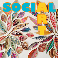 Art Social ~ Colorful collages