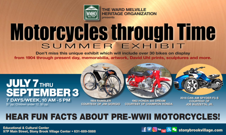 Motorcycles Through Time - Discover Long Island