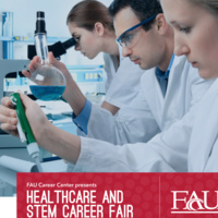 Healthcare and STEM Career Fair Presented by FAU Career Center