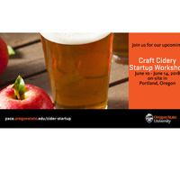 Craft Cidery Startup Workshop