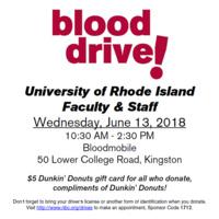 URI Blood Drive