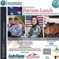 8th Annual Patriots Luncheon