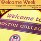 Welcome Week for Boston College Class of 2022!