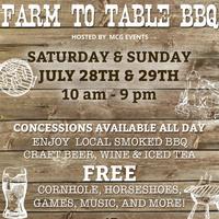 Farm to Table BBQ