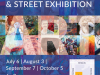 First Friday and Street Exhibition