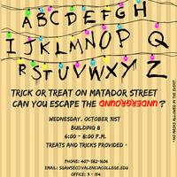 Trick or Treat on Matador Street