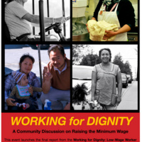Working for Dignity: A Community Discussion on Raising the Minimum Wage