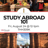 Study Abroad 101 Info Session