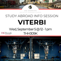 Study Abroad for Viterbi - Info Session
