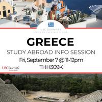 Study Abroad in Greece (CYA)