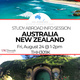 Study Abroad Info Session - Australia/New Zealand