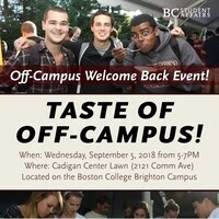 Taste of Off-Campus