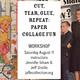 Cut, Tear, Glue, Repeat: Paper Collage Fun