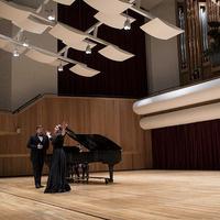 Faculty Artists: Emily Albrink, soprano, Chad Sloan, baritone, & Lee Luvisi, piano