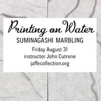 Printing on Water: Suminagashi Marbling Workshop