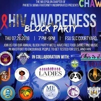 Phi Beta Sigma HIV Awareness Block Party!
