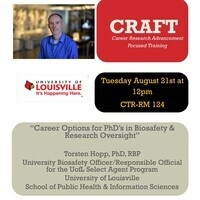 CRAFT Seminar Series
