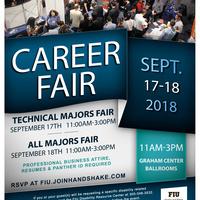 Fall 2018 Career Fair - Day 2 All Majors Fair