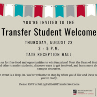 Transfer Student Welcome