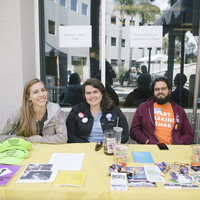 PILF 5k Courtyard Tabling