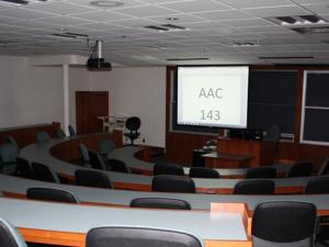 Adamian Academic Center, Classroom 143