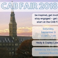 CAB Activities & Organizations Fair