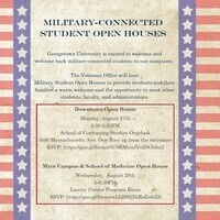 Downtown Military-Connected Open House