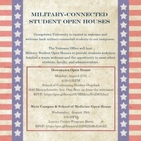 Main Campus Military-Connected Student Open House