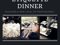 Career Opportunities & Employer Relations Etiquette Dinner