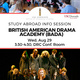 Study Abroad Info Session: British American Drama Academy