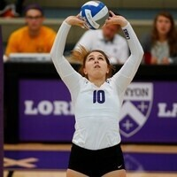 Kenyon College Volleyball vs  Capital University