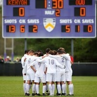 Kenyon College Men's Soccer vs  The College of Wooster