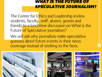 CEL Fusion Discussion: What is the Future of Speculative Journalism?