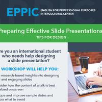 Preparing Effective Slide Presentations: Tips for Design