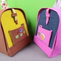 Make and Take Bookbags
