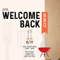 APASA's Welcome Back BBQ