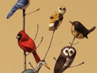 Garden Creativity: Felt Bird Ornaments