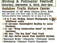 Fall Native Plant Sale, Birding and Pollinator Festival