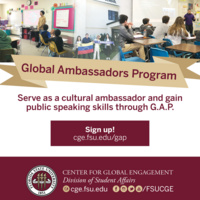Global Ambassadors Program (G.A.P.) Info Session