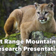 Lecture on Mountain Lion Research Project