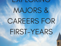 A&S Exploring Majors & Careers for First Years