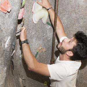 Free Climbing Wall