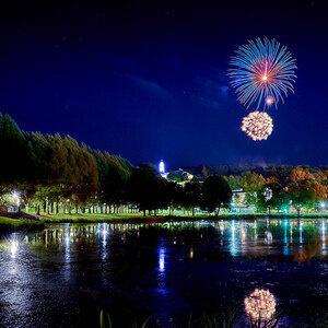 Fireworks Over Whitnall Field