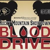 Rocky Mountain Showdown Blood Drive
