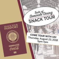 Taste of Seminole Dining Snack Tour