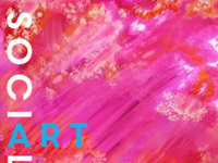 Art Social ~ $5 Friday ~ Bold & Bright watercolors