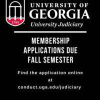 University Judiciary Information Session